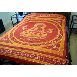 Cubre cama Batik Buddha