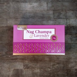 incienso tulasi nag champa series lavanda