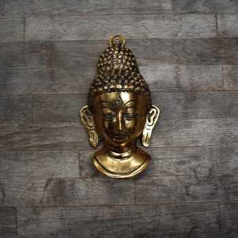 Rostro Buddha Dorado