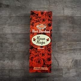incienso rosa roja Darshan