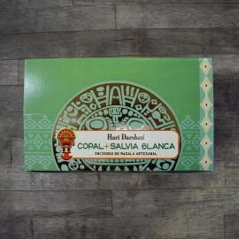 Copal + white sage Hari Darshan